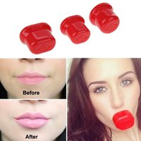 Wholesale lips pump plumper - Fulllips 3 Sizes Makeup lip pump plumper Lips Enhancer Device Natural Fuller Bigger Thicker Sexy Lips Enlarger Tools