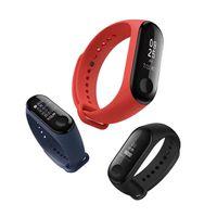 taux de mètre achat en gros de-bande originale Xiaomi Mi 3/4 intelligent Wristband OLED Display 50M Rate étanche cardiofréquencemètre Bracelet avec wirstband coloré