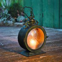candelero de metal huracán al por mayor-Colgante de hierro colgante de la vendimia patio decoración del hogar lámpara de huracán