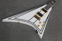 ingrosso personalizzate in chitarre-Disponibile ! brinkley custom shop Vendita white Wylde Flying - Chitarra elettrica a forma di V in stock
