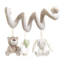 musikalische handys für babykrippen großhandel-Baby Spielzeug Mobile Pädagogisches Musikspielzeug Neugeborenen Plüsch Rasseln Spielen Auf Der Krippe Hängende Glocke Spielzeug Für Kinder - BYC148 PT49