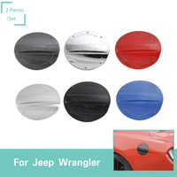 Wholesale mustangs accessories online - Car Fuel Tank Cover ABS Decoration Stickers Fit Ford Mustang High Quality Auto Interior Accessories