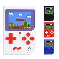 Wholesale console metal - CoolBaby RS-6 Portable Retro Mini Handheld Game Console 8 bit Color LCD Game Player For FC Novelty Games GGA241 25pcs