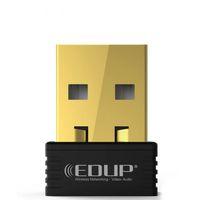 pc wifi inalámbrico usb al por mayor-150Mbps Adaptador USB Inalámbrico EDUP EP-N8553 Receptor de Wifi Tarjeta Ethernet Para Computadora Portátil PC XXM8
