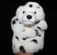 Wholesale Hand Puppet Dog Toy - Hand Puppet Doll Toy Spotted Dog Dolls Plush Children'S Toys Puppets Gifts