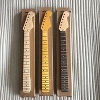 части электрические оптовых-22 Лады электрогитара стиль клен гитара шеи DIY частей для электрогитары