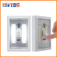 Wholesale Wireless Under Cabinet Light - COB LED Switch Light Wireless Cordless Under Cabinet Closet Kitchen RV Night Light indoor wall light Night Lights
