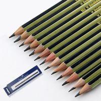 2h crayons achat en gros de-2018 crayons - 14 pcs / lot croquis de crayon Peinture Dessin Art Pen comprennent H-2H-3H-4H-5H-hb-b-2b-3b-4b-5b-6b-7b-8b