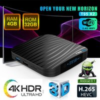 Wholesale best amlogic android tv box for sale - 4GB GB Mini TV Box T95X2 Amlogic S905X2 Android TV Box k Support Digital Display D Movie Playback USB3 HDMI Android Box Best Buy