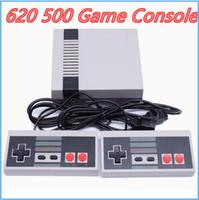consolas de video al por mayor-Nueva llegada Mini TV Game Console Video Handheld para NES 620 500 consolas de juegos con cajas de venta al por menor venta caliente MQ01