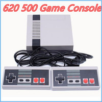 yeni taşınabilir video oyunları toptan satış-Yeni Varış Mini TV Oyun Konsolu Video El NES 620 için 500 oyunları perakende kutuları ile sıcak satış MQ01 konsolları