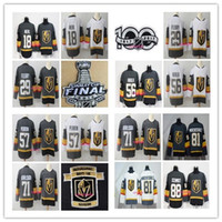 Wholesale stop ice - 2018 New Golden Knights 18 James Neal 29 Marc-Andre Fleury 56 Erik Haula 57 David Perron 81 Marchessault 71 William Karlsson Hockey Jersey