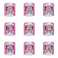 brazaletes de plástico para niños al por mayor-Coleccionables de bricolaje animales trucos de magia pulsera lindo plástico acrílico brazalete de múltiples funciones perlas colgantes juguetes para niños regalo de navidad