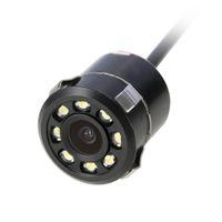 nachtsicht usb versteckte kamera großhandel-Auto-Rückseiten-Rückfahrkamera-wasserdichte stoßsichere 8 LED-Nachtsicht Full HD CCD-Kamera-breiter Betrachtungswinkel-wasserdichte Rückfahrunterstützung
