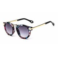 Wholesale kids sunglasses online - New Brand Trendy Kids Sunglasses Polygon Children Boys Girls Sun Glasses Sun Shades Baby Glasses Eyeglasses Goggles