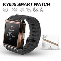 Wholesale Smart Watch KY005 Smart Bracelet with Heart rate inch LCD display IPX7 Waterproof and SIM Card Slot For IOS and Android Cellphones