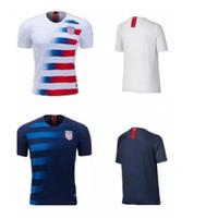 2018 Copa do mundo EUA jersey PULISIC Camisas de Futebol 18 19 DEMPSEY  BRADLEY ALTIDORE América Camisas de futebol por atacado 10 PCS Livre DHL 1ada3be50bc96