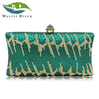 Wholesale Rivers Fashion - Mystic River Women Evening Bags Girl Day Clutches Ladies Party Bag Wedding Clutch Purses