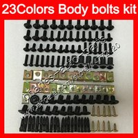 Wholesale fairing zxr for sale - Group buy Fairing bolts full screw kit For KAWASAKI NINJA ZX2R ZXR250 ZX R ZXR ZX R Body Nuts screws nut bolt kit Colors