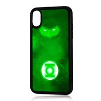 funda verde s5 al por mayor-Superhero Green Lantern Phone Case para Iphone 5c 5s 6s 6plus 6splus 7 7plus Samsung Galaxy S5 S6 S6ep S7 S7ep