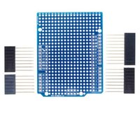 Wholesale Wholesale Breadboard - Prototype PCB Expansion Board For Arduino ATMEGA328P UNO R3 Shield FR-4 Fiber PCB Breadboard 2mm 2.54mm Pitch With Pins DIY One