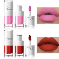 Wholesale tattoo lips tint online - Pudaier Liquid Matte Lipstick Waterproof Red Lip Makeup Tattoo Long Lasting Lip Tint Matte Plumper Lip Gloss Rouge A Levre Mat