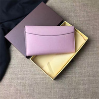Wholesale Iphone Original Case - Women Bag Leather Brand designer Handbag Purse Original box high quality fashion holder for cellphone cards cash luxury famous M110