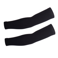 Wholesale Ice cool summer sunscreen cycling arm sleeves silicone no slip high elastic bicycle golf arm warmers M L XL XL