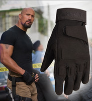Wholesale fingerless gloves resale online - Blackhawk Hell Storm US Special Forces Tactical Army Gloves Slip Outdoor Men Fighting FullFinger Gloves