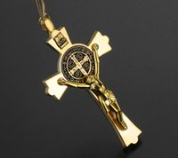 Wholesale crosses jesus for sale - Group buy Car Pendant Automobiles Christian Jesus Crucifix Figurine Hanging Auto Rear View Mirror Decoration Cross Suspension Ornaments