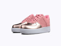 Wholesale m catch - 2018 Hot Sale Limited Forced 1 Eye-catching Cherry Pink Sakura designers sneakers trainers Running Sports Women Girl Casual Shoes