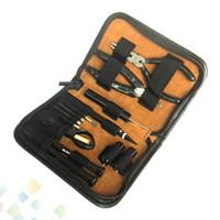 Wholesale designer tools for sale - GT VAPE Tool Kit DIY Tool Kits For E Cigarette RDA RBA Atomizers Vaporizer RBA Coil Designer High quality Tool Kit DHL Free