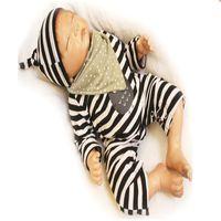Wholesale lifelike dolls china - Simulation Reborn Baby Ruanjiao plastic plastic Doll Plastic Doll Dolls Cute Gift Full Body Silicone Baby Lifelike Reborn Dolls