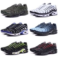 Wholesale pa lights - Wholesale 2018 Men Requin Pas Cher Fashion Tn running Shoes Sales TOP Quality Cheap France Basket Tn Requin Chaussures Size 40-46