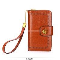 kartenhalter für handy großhandel-Frauen-Qualitäts-lange Geldbörsen neue Entwurfs-Handy-Taschen-Dame Fashion Clutch Card Holder Mädchen-Luxusgeldbeutel-Damen-Geld-Tasche