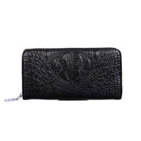 Wholesale multi coins slot for sale - Hot Classic luxury handbag men s casual multi purpose wallet fashion Alligator wallet Designer Classic Handbag free shopping