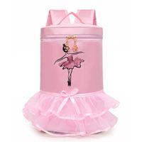 ingrosso borse di balletto rosa-Nuovo arrivo Kids Pink Barre Ballet Backpack Borse per bambini grandi Accessori per bambini Regali rosa per le ragazze