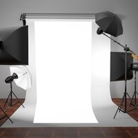 Wholesale photos prints for sale - Group buy OOTDTY New WHITE Thin Vinyl Photography Backdrop Background Studio Photo Prop Durable x5ft