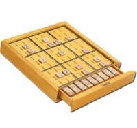 iq oyuncakları toptan satış-Deluxe Sudoku Ahşap Bulmacalar Kurulu Oyunu Çocuk Mantıksal Düşünme IQ Istihbarat Oyuncaklar