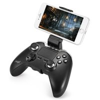 ipega joystick spielsteuerung bluetooth großhandel-iPEGA PG-9069 Wireless Bluetooth Gamepad mit Touchpad Spiel Controller Joystick PC für iPhone / Pad / Android IOS Tablet