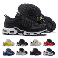 Wholesale 97 Plus Tn Running Shoes Men Women Chaussures Homme Air Cushion Vapor Plus Sport Trainers Zapatiallas Hombre Tns Designer Shoes