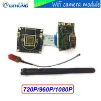 Wholesale Wireless Sd Card Security Cameras - Wireless wired Webcam wifi IP camera module HD 720P 960P 1080P support onvif P2P SD card slot Max32G for CCTV security camera