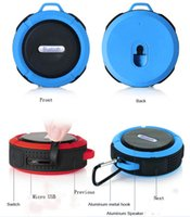 Wholesale mini speakers for mobile phones online - 2018 Mini Promotion Speaker Waterproof Shower Speaker Blue tooth for MP3 MP4 Playing it is company with you Camping cycling music