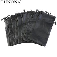Wholesale microfiber for sunglasses resale online - 10pcs Microfiber Cleaning and Storage Pouch Sack Case for Sunglasses and Eyeglasses