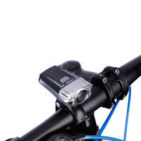Wholesale helmet flashlights for sale - Group buy USB Rechargeable Bike Cycling Front Flashlight Headlight Helmet Light High quality with aircraft grade aluminum alloy material