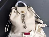 avrupa hakiki deri çanta toptan satış-Europ lüks stil orignal gerçek Hakiki deri moda sırt çantası omuz çantası çanta presbiyopik mini paket messenger çanta cep phonen