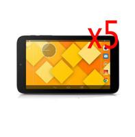 ingrosso anti glare per compresse-Nuovo 5 Pz / lotto Morbido Anti-Glare Screen Protector per Alcatel Pixi 7 Tablet 7 pollice Tablet Protective Film + Clean Cloth