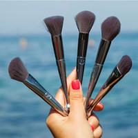 cajas de maquillaje chino al por mayor-12 unids conjunto de cepillo del Zodíaco Chino Conjunto de Cepillo de Maquillaje Cepillos de Maquillaje Kabuki Fundación Profesional Polvo Blush Maquillaje Cepillo + caja de Acryli