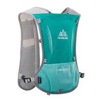 прогулочный спортивный рюкзак оптовых-AONIJIE Men Women Marathon Hiking Running Backpack Outdoor Sports Trail 7 colors