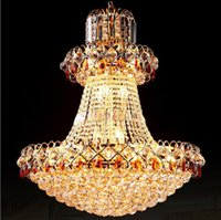 Wholesale empire chandeliers - Factory direct sale top grade chinese K9 crystal empire style chandelier pendant lighting